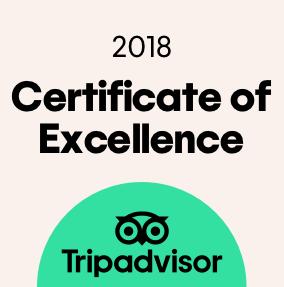 TripAdvisor Mükemmellik Sertifikası
